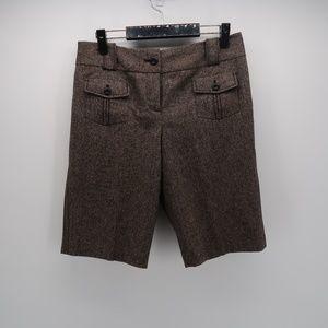 Ann Taylor LOFT Pockets Bermuda Knee Length Shorts